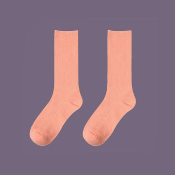 Essential Star Quality Socks | Salmon Pink