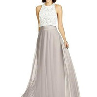 Dessy Collection S2977 Soft Tulle Skirt Bridesmaid Separates