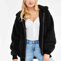 OBEY Fuzzy Alps Jacket