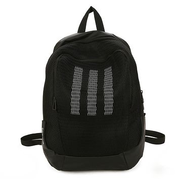 Adidas Fashion Casual Simple Backpack Travel Bag