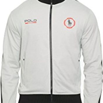 Sport Cotton-Blend Track Jacket