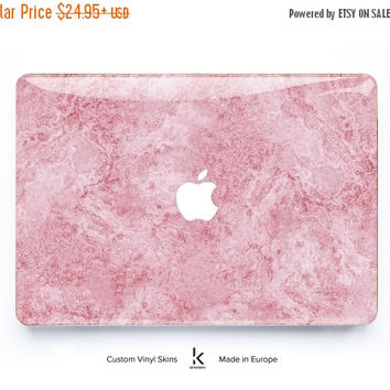MACBOOK DECAL SALE Macbook Skin Marble Macbook Pro Skin Macbook Air Skin Macbook Cover Macbook Decal Macbook Sticker Laptop Skin Cream Pink