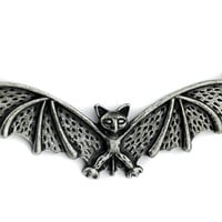 Gothic Vampire Bat Halloween Necklace