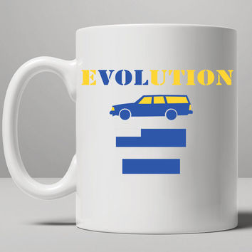 eVOLution Mug, Tea Mug, Coffee Mug