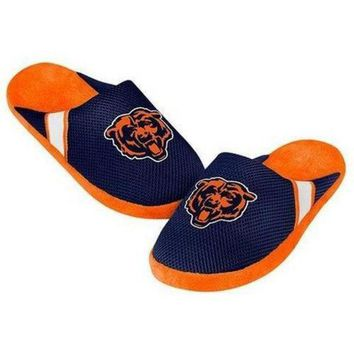 DCCK8X2 NFL Chicago Bears Jersey Slippers [Men's X-Large - Size 13-14 US]