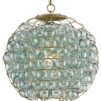 Currey Company Pastiche Orb Chandelier
