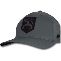 Hooey Golf Dark Grey Large/X-Large Flex Fit Hat - 1539BKGY