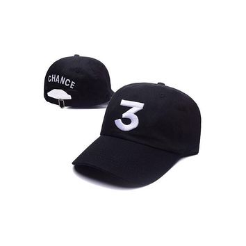 Hot Sale Casual Unisex C Caps Chic Chance TheTapper Baseball Caps Streetwear Dad Hats Coloring Book CHANCE 3