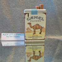 Camel Cigarette Lighter Collectible Tobacciana Smoking Accessories