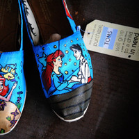 The Little Mermaid- Custom TOMS