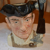 Royal Doulton large character jug/The Gunsmith 1962 Williamsburg collection/ ships worldwide from UK