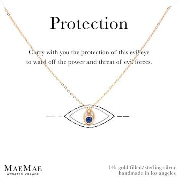 Best Silver Evil Eye Necklace Products on Wanelo d18a9d4172