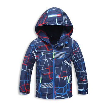 Spring/Autumn Brand Fashion Children Boys Jackets Coats For 4-12 Kids Outerwear Clothing