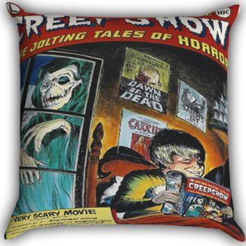 Creepshow I0027 Zippered Pillows  Covers 16x16, 18x18, 20x20 Inches