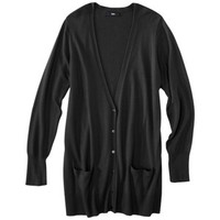 Mossimo® Women's Plus-Size Long-Sleeve V-Neck Boyfriend Cardigan Sweater - Assorted Colors