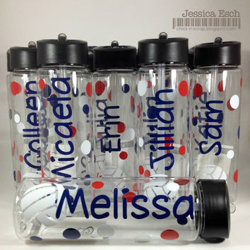 Personalized Volleyball Water Bottles~ Team Gift