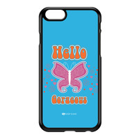 Sassy - Hello Gorgeous 10433 Black Hard Plastic Case for iPhone 6 by Sassy Slang