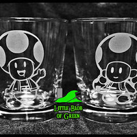 Toad and Toadette Tumbler Set