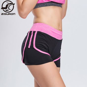 Women Sport Fitness Yoga Shorts 2 In 1 Women Athletic Shorts Cool Ladies Sport Running Short Fitness Clothes Jogging E307