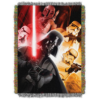 Star Wars The Empire  Woven Tapestry Throw Blanket (48x60)