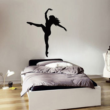 kik2223 Wall Decal Sticker dance dancer girl living room bedroom children's room