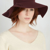 Boho Chapeau Road Show Hat in Magenta by ModCloth