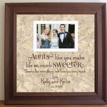 Aunts like You Frame, Aunt Gift, Aunt Frame, Aunts, Wedding Frame,Unique Wedding Gift, Wedding Thank You, Custom Frame, 15x15 Framedaeon