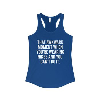 That Awkward Moment Women's Fitted Tank