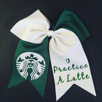 Starbucks Hair Bow