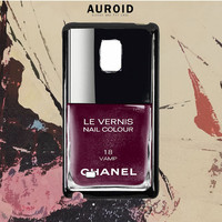 Chanel Nail Polish Vamp Samsung Galaxy Note 5 Case Auroid