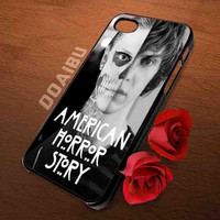 American Horror Story skull Tate iphone 4/4s, 5/5s 5c , samsung s2 i9100,s3,s4