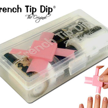 French Manicure Kit Nail Art Nail Polish False Nails Fake Nails French Tip Dip Manicure Set Nail Design Nail Tips French Nails Gift For Her