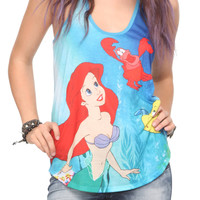 The Little Mermaid Ariel Sea Girls Tank Top | Hot Topic