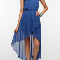Sparkle & Fade Chiffon High/Low Tank Dress
