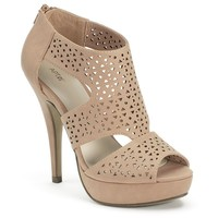 Apt. 9 Women's Cutout Peep-Toe Platform High Heels