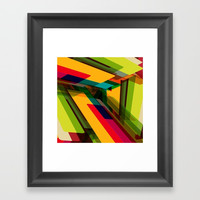 Field of Colors Framed Art Print by All Is One
