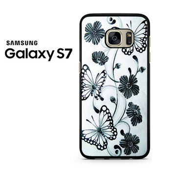 Butterfly Pretty Design Samsung Galaxy S7 Case