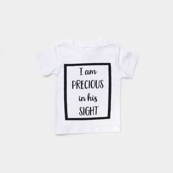 Toddler - I am Precious in His Sight
