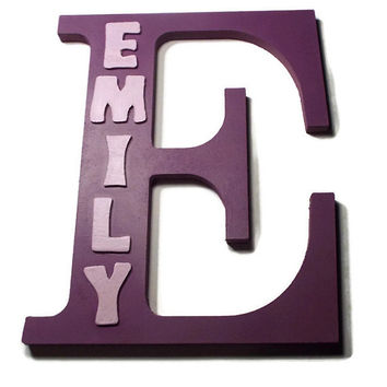 Best Wooden Painted Letters For Decor Products On Wanelo