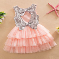 Sequined Patchwork For Girls Baby