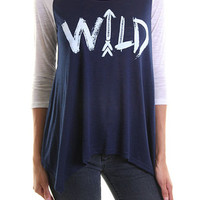 Wild Graphic Tunic
