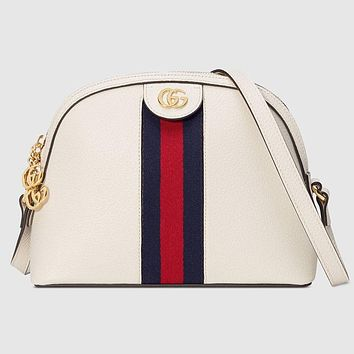 Gucci Women Fashion Leather Handbag Crossbody Shoulder Bag Satchel
