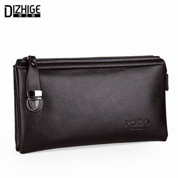 Men's Wallets genuine Leather Casual Famous Luxury