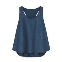 Women 2018 Tank Tops Women Summer New O Neck Sleeveless Vest Top Women Casual Loose Tank Top Fashion Streetwear Plus Size S-5XL