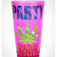 Party High Leaf Pint Glass - Spencer's