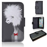 Llama Who | wallet case | iPhone 4/4s 5 5s 5c 6 6+ case | samsung galaxy s3 s4 s5 s6 case |