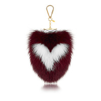 Products by Louis Vuitton: Fuzzy V Bag Charm