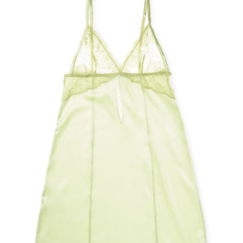 Mimi Holliday Women's Finch Mini Triangle Slip - Green -
