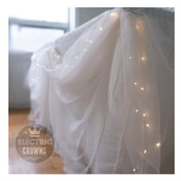Wedding table Decor Winter Wedding Decorations String Lights Cake Table Decor Wedding Cake Decor 13ft 40 Leds Battery