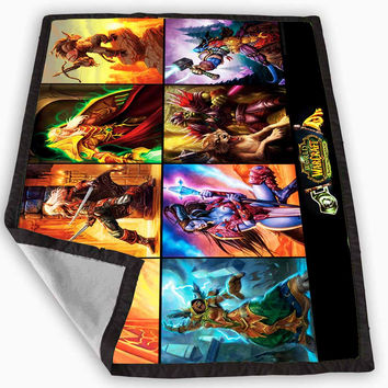 world of warcraft 3 heroes Blanket for Kids Blanket, Fleece Blanket Cute and Awesome Blanket for your bedding, Blanket fleece *